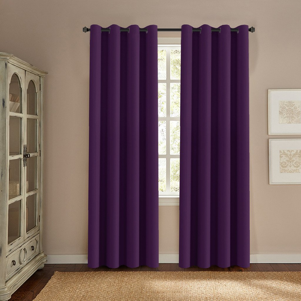 Incroyable H.VERSAILTEX Ultra Soft Smooth Innovated Microfiber Thermal Insulated  Blackout Window Curtains Bedroom/Living