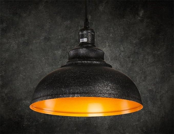 Lampade Ufficio Sospensione : E27 vintage pastorale ciondolo luce plafoniera industriale retro