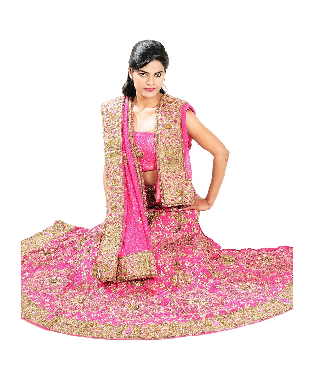 Jaipur Collections Indian Lehenga Choli For Women Party Wear Pink Designer Traditional