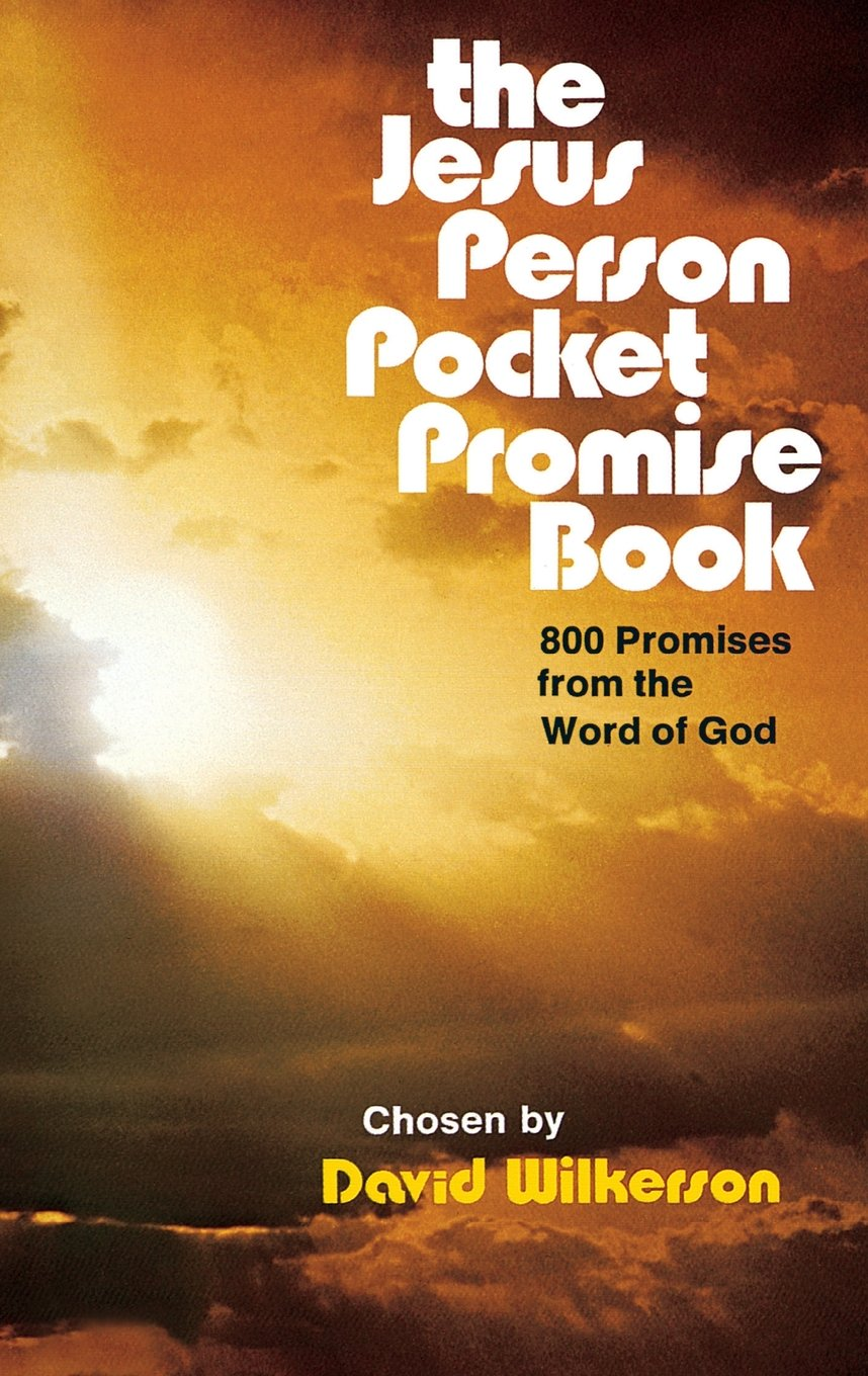 the jesus person pocket promise book 800 promises from the word