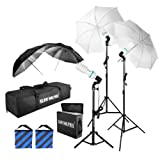 Slow Dolphin 1575W 5500K Photography Photo Portrait Studio Day Light Umbrella Lighting Kit