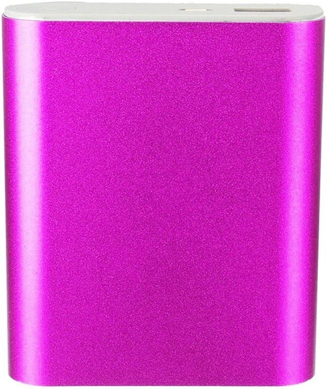 Hotpink Feliader 5V 1A USB 4X 18650 Portable Power Bank Case Kit Portable Power Bank Case External Backup Battery Shell Travel Pack Charger Box,DIY USB Power Bank Charger Box for Cell Phone