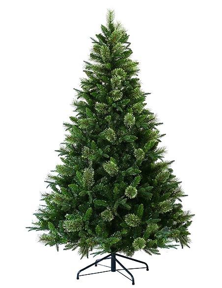 ABUSA Artificial Christmas Tree Prelit 9 ft XMAS Pine Tree with 1000 LED  Lights 2063 Branch
