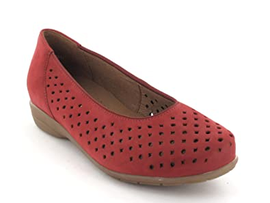 best loved fa6f7 6f08c ARA Shoes AG 12-33367-13 pomodore/Red Red Size: 6.5: Amazon ...