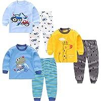 XM-Amigo Conjunto térmico para niños de Capa Base 3,Parte Superior e Inferior, Ropa Interior térmica para bebés y niños…
