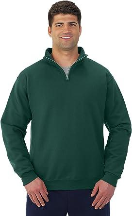 JERZEES 995MR Nublend Quarter-Zip Cadet Collar Sweatshirt