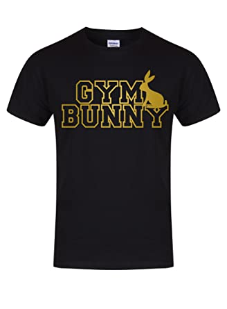 a557971be Gym Bunny - Unisex Fit T-Shirt - Fun Slogan Tee: Amazon.co.uk: Clothing
