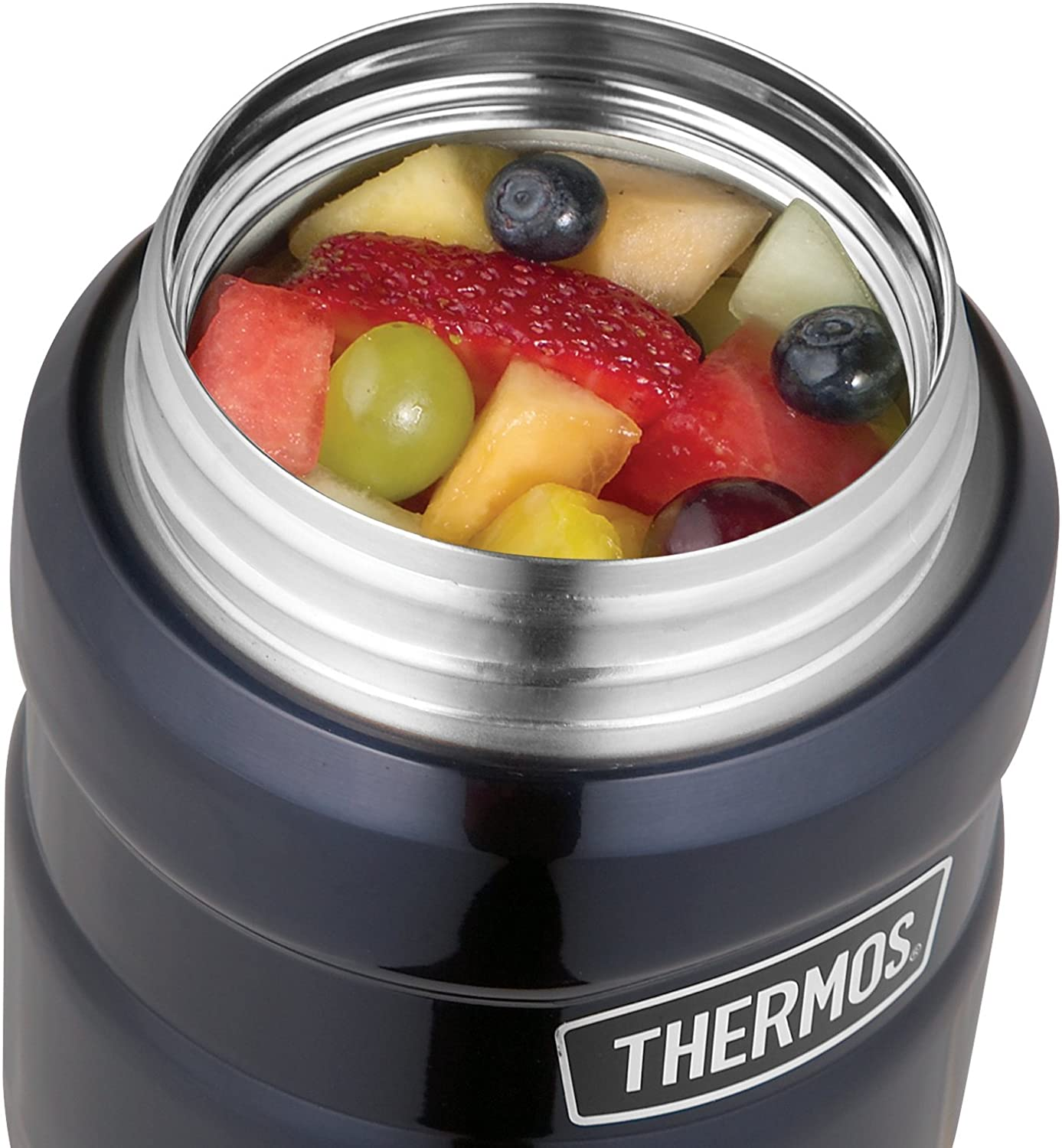 Mitternachtsblau Thermos Stainless King Isolierbeh/älter 0,47 l