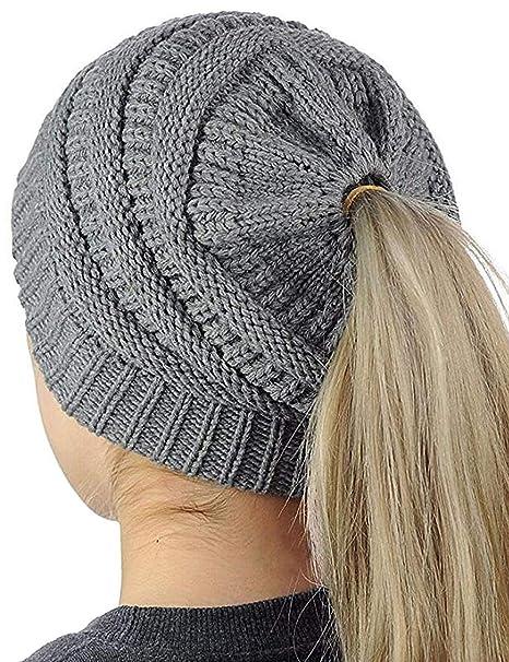 365 Shopping Beanie Mütze Damen Stricken Hut Winter Mütze