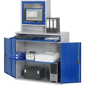 RAU Computer-Arbeitsstation - Monitorgehäuse, 1 Ausziehboden ...