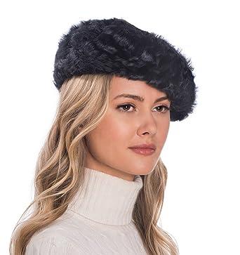 Eric Javits Luxury Fashion Designer Women s Headwear Hat - Persian Beret  (Black) d8ba7bcb764