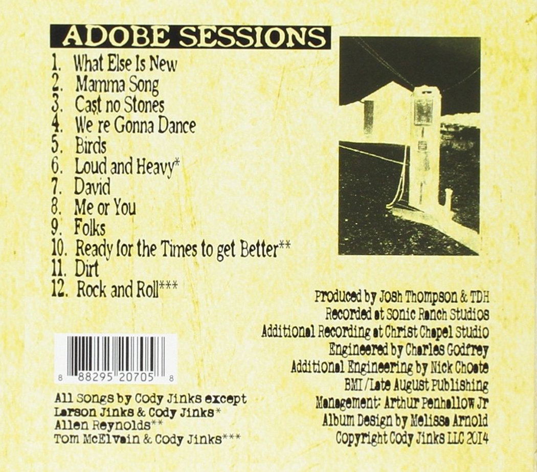 Adobe Sessions by Cody Jinks Music