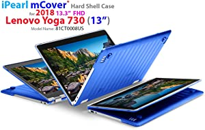 "mCover Hard Shell Case for New 2018 13.3"" Lenovo Yoga 730 (13) Laptop (NOT Compatible with Yoga 710/720 / 910/920 Series) (Yoga 730 Blue)"