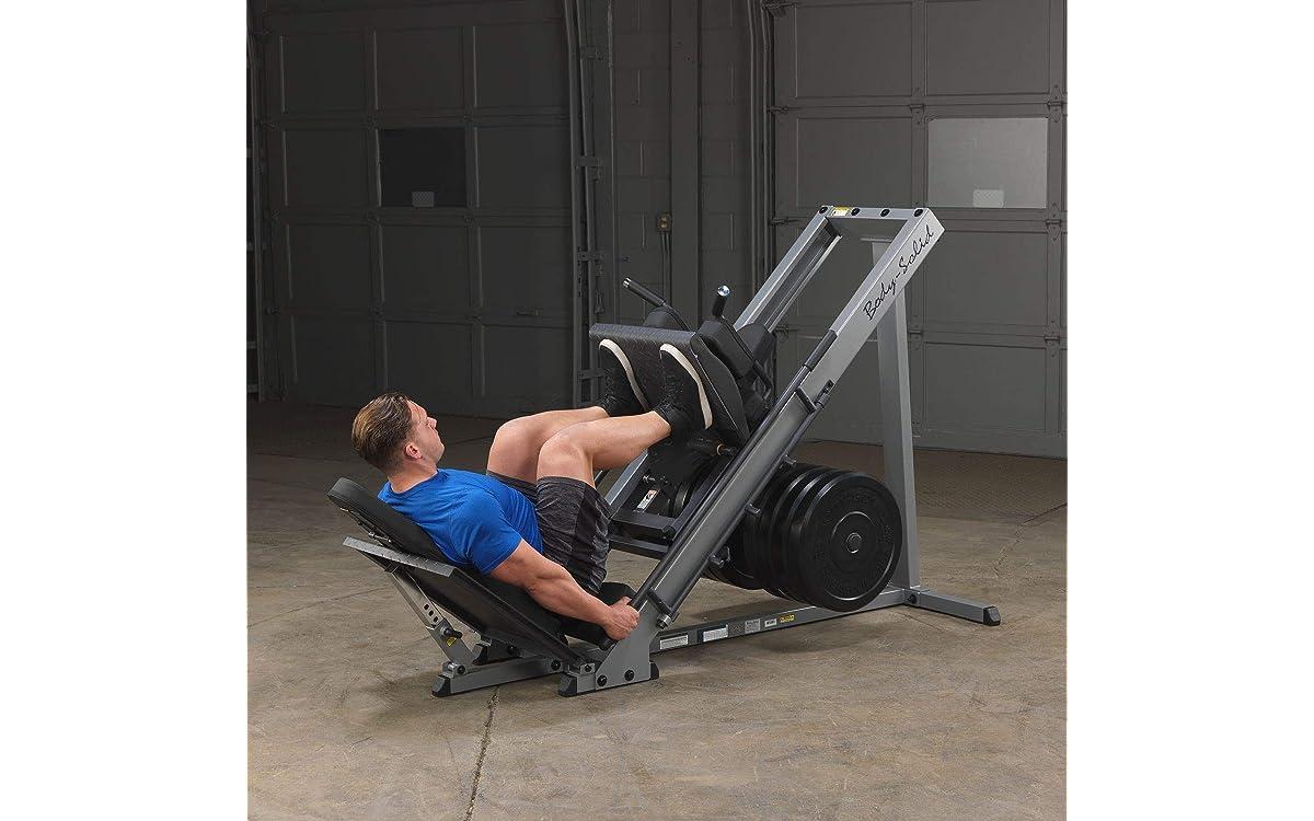 leg press machine weights