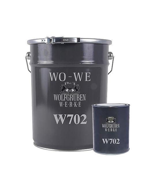 Sehr 2K Epoxidharz Farbe Garagenfarbe Bodenbeschichtung W702 Kieselgrau RQ83