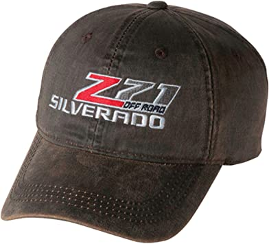 Bundle Includes 1 Hat and 1 Driving Style Decal Gregs Automotive Chevrolet Chevy Bowtie Hat Cap Brown