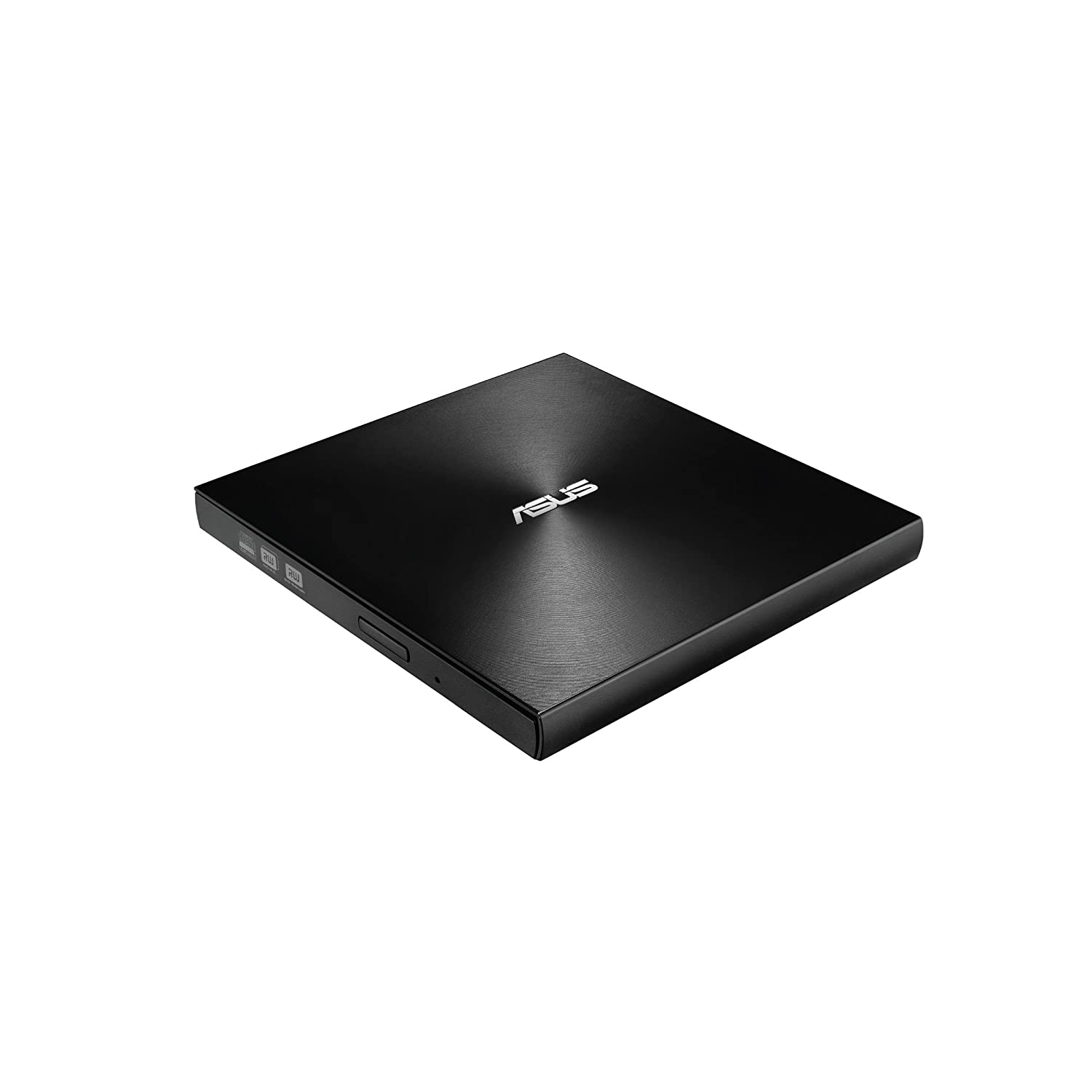 ASUS ZenDrive Black 13mm External 8X DVD/Burner Drive +/-RW with M-Disc Support, Compatible with Both Mac & Windows and Nero BackItUp for Android Devices (USB 2.0 & Type-C Cables Included)