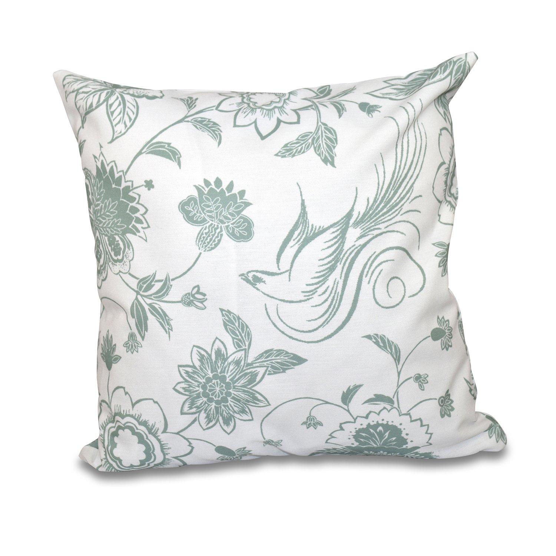 E by design O5PFN497GR15-18 Printed Outdoor Pillow