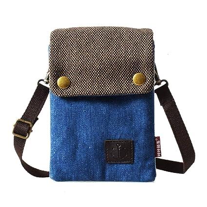 1415f4ada WITERY Women Cute Candy Blue Crossbody Bag/Cellphone Purse/Mini Shoulder Bag /Cellphone