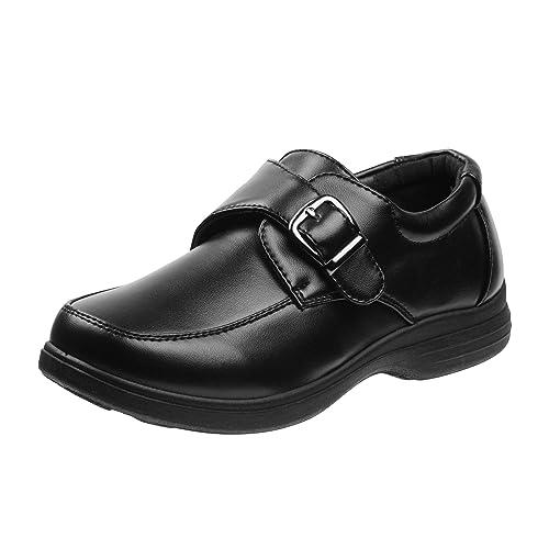 Amazon.com: JOSMO - Zapatos de uniforme de colegio para ...