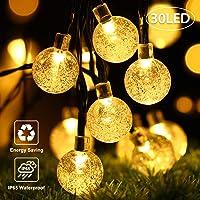 OxyLED Guirnalda de luces solares,30 luces LED