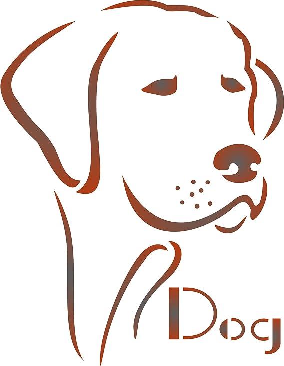 M//26x30cm home decor Ideal Stencils Scottie dog stencil art craft painting Ltd