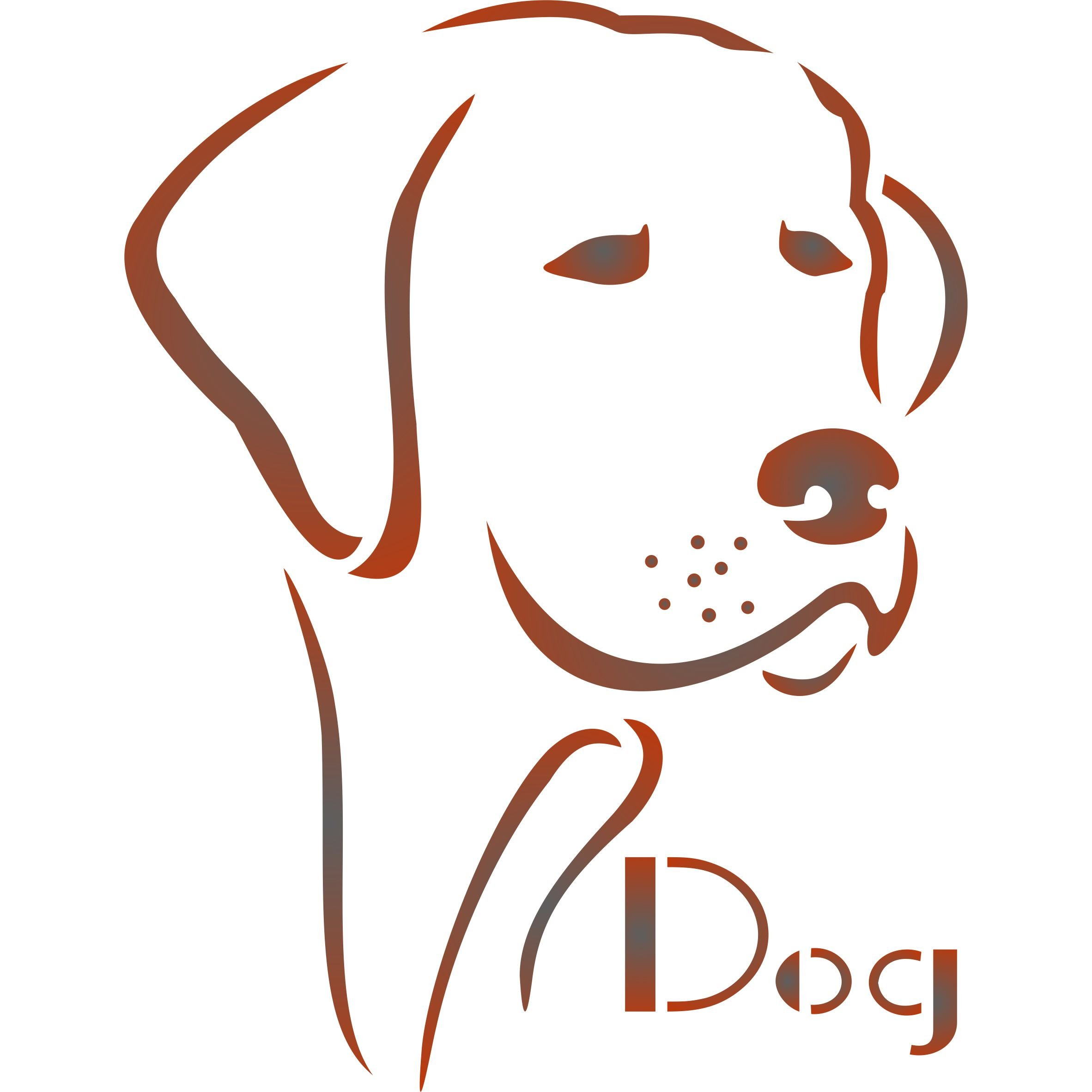 Dog Stencil - (size 8.5''w x 11''h) Reusable Dog Stencils for Painting - Best Quality Dog Stencils for Walls - Use on Walls, Floors, Fabrics, Glass, Wood, Terracotta, and More... by Stencils for Walls