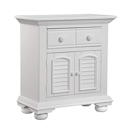 Cottage Traditions 1 Drawer Nightstand – Eggshell White