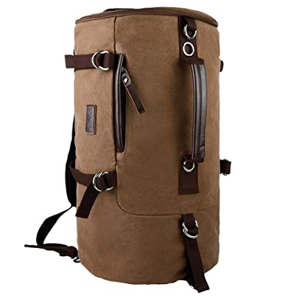 OXA Vintage Canvas Backpack Computer Bag Laptop Bag Daypack Rucksack Sports  Bag Hiking Bag Travel Bag School Bag Satchel Bag College Bag Brown - Buy OXA  ... 4a934a66d15c2
