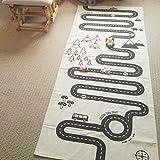 Dytiying Adventure Racing Road Muster Baby Krabbeldecke Spiel Decke Boden Spielmatte Spielteppich Teppich Kinderzimmer Dekoration