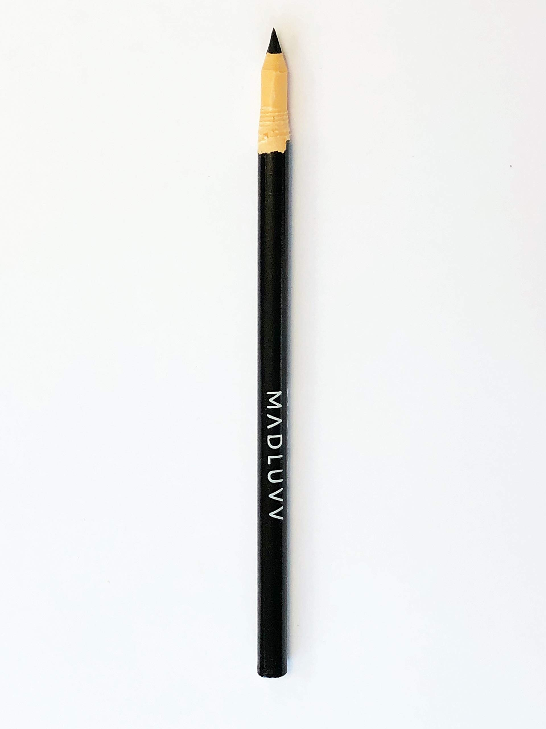 Best Microblading Pre Draw Pencils, Black with Sharpener (3 Pack) by MADLUVV (Image #4)