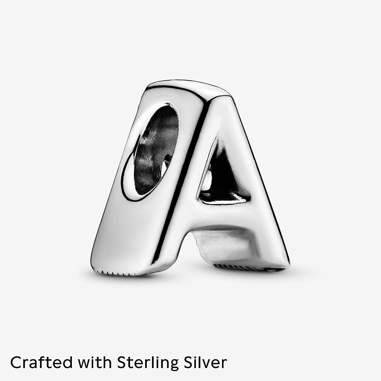 PANDORA Letter 925 Sterling Silver Charm