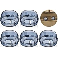 5 Pieces Gas Stove Knob Covers for Child Safety, Baby Oven Lock Kitchen Safety Guards, Baby Stove Knob Guards Child…