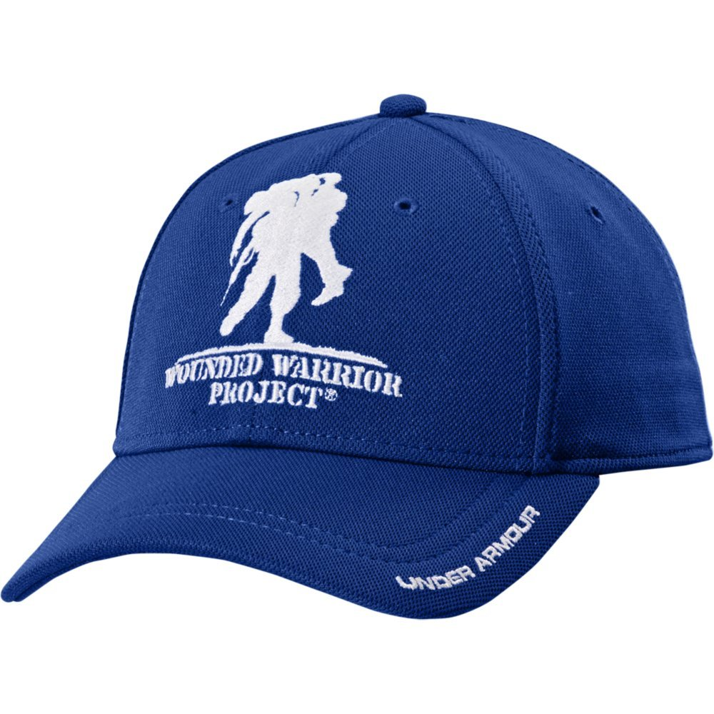 Under Armour Men's Wounded Warrior Project Snapback Cap, Royal/White, One Size Under Armour Accessories 1251960