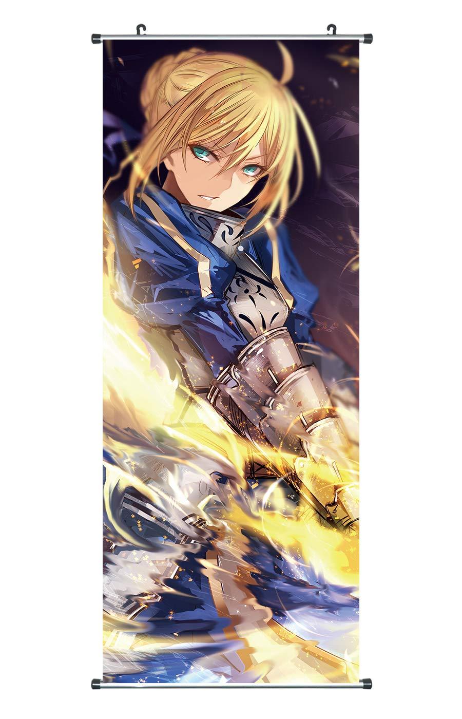 100x40 A CoolChange Poster para enrollar//Kakemono Grande de Fate Stay Night Tema: Saber