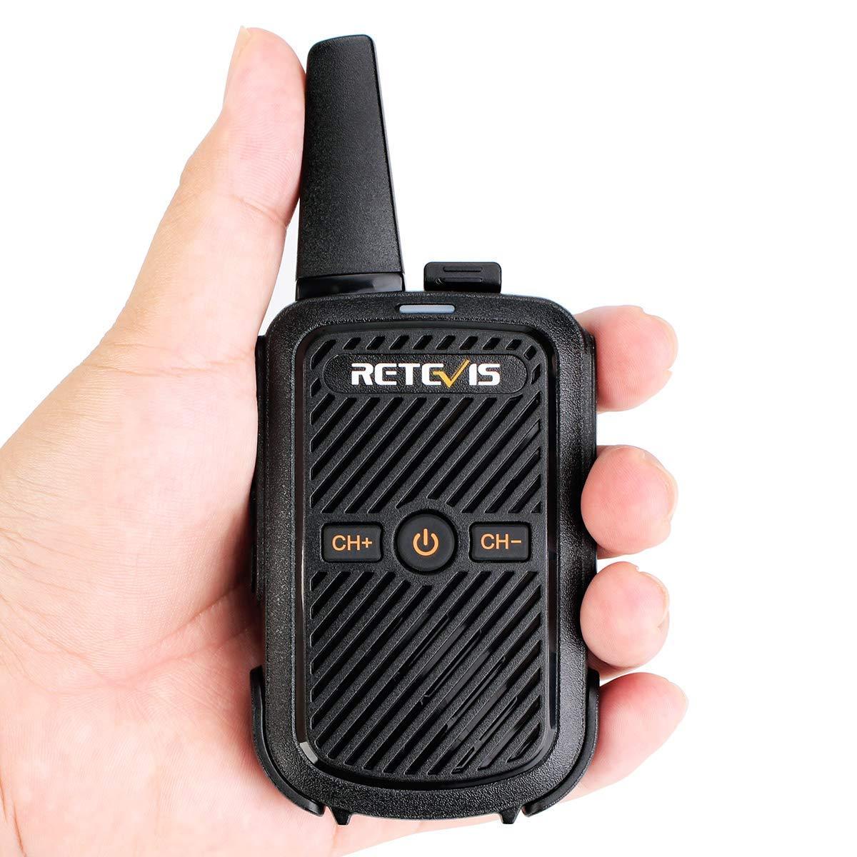 FA9144AX3 Black, 3 Pack Retevis RT15 Mini Walkie Talkie FRS Rechargeable 16 Channel Lock Vox Handsfree Ski Walkie Talkies for Kids Adults