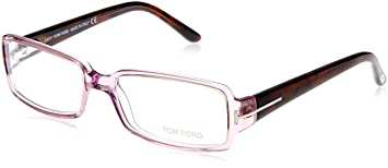 ff7ff6bf8a9 Amazon.com   Tom Ford FT5185 Eyeglasses - 080 Transparent Orchid ...