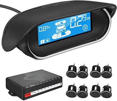 Amazon.com: TVIRD - Kit de sensores de aparcamiento traseros ...