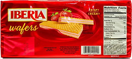 Amazon.com : Iberia Vanilla Wafer, 4.94 Ounce (Pack of 22) : Grocery & Gourmet Food