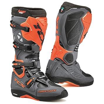 TCX Comp Evo Michelin, color gris oscuro/Naranja Fluo botas Cruz 45