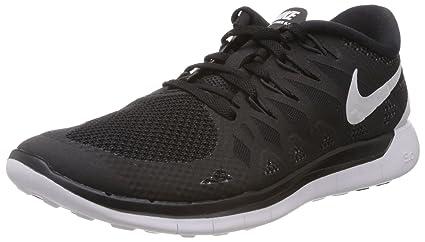 d50abb046576 Amazon.com  Nike Men s Free 5.0 Black White Anthracite Running Shoe ...