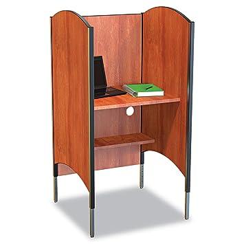 Amazoncom HighPressure Laminate Study Carrel Desk Kitchen Dining