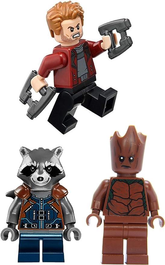 LEGO 76102 Thor/'s Weapon Quest Teen Groot Rocket Raccoon Marvel Super Heroes