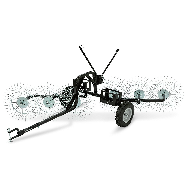 Tuff Yard Equipment Straight Line Acreage Rake, 55-Inch ACR-600T
