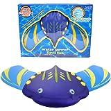 Edealing Schwimmen Spielzeug Unterwasser Segelflugzeug mit verstellbaren Flossen - Hydrodynamische Sommer Pool Spielzeug Wasser Sport Spielzeug - Fisch Form