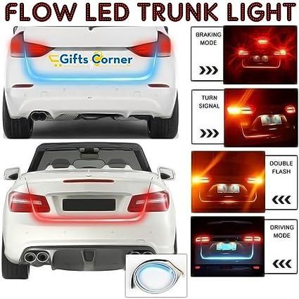 Giftscorner Flow Led Strip Trunk Light For Car Dicky Standard 4ft