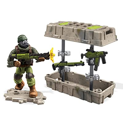 Mega Construx Call Of Duty Care Package Green Building Set: Toys & Games
