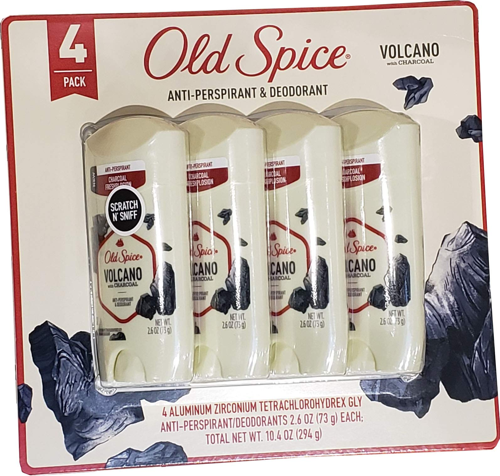 Old Spice Old Spice Men's Volcano With Charcoal
