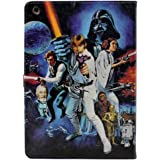 A New Hope Characters Vintage Pattern Leather Flip Stand Case Cover For Apple ipad 2 ipad 3 ipad 4