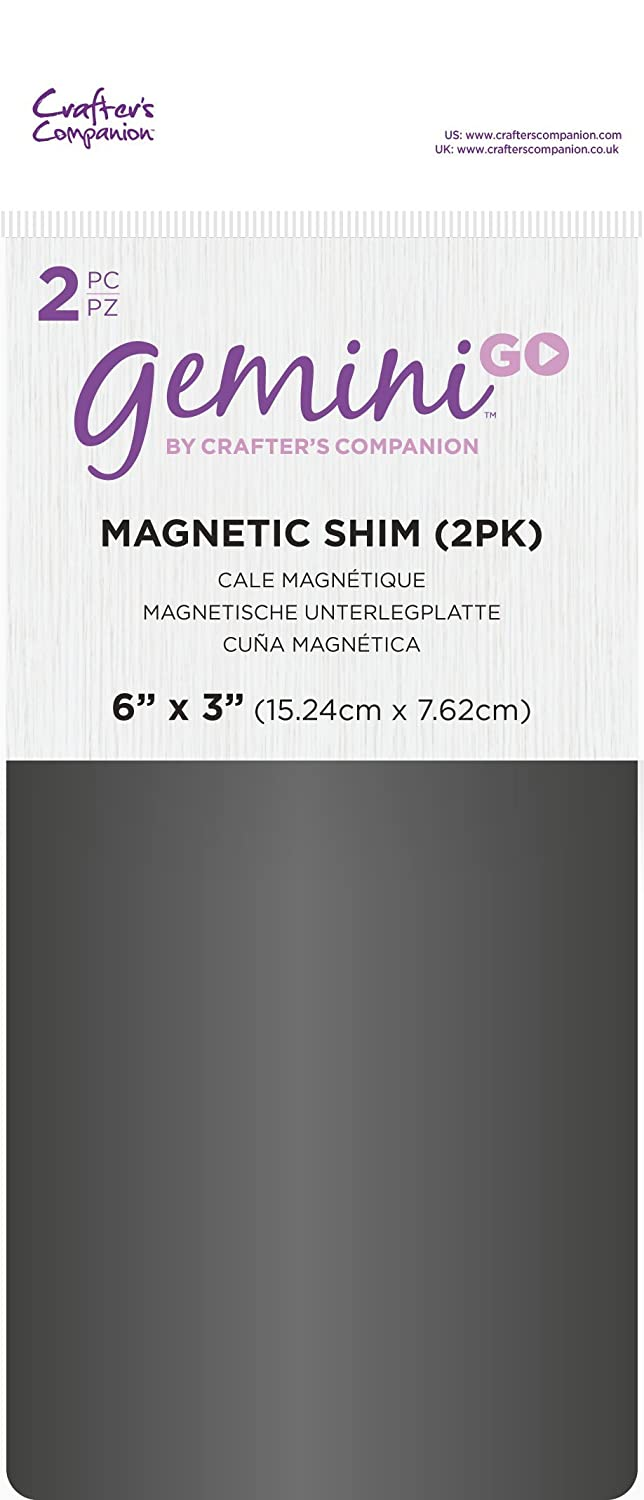 Gemini Go Accessories Magnetic Shim, Metal, 3 x 6-Inch Crafter' s Companion GEMGO-ACC-MAGS